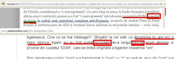 Schimbarea denumirii tiganilor din Rom/Roma/Romani/Romanies in Tigani