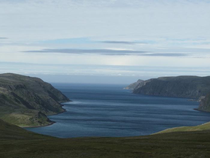 La țărmul Oceanului Arctic