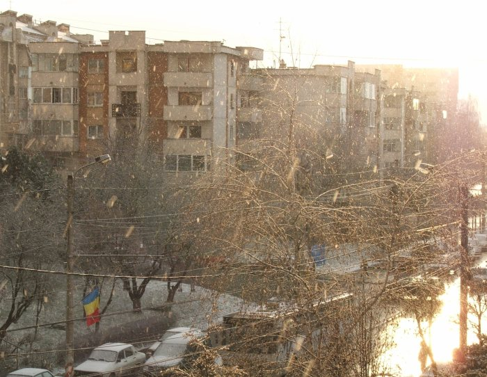 Cluj, Bd. N. Titulescu, într-o după-amiază de octombrie