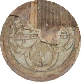 Cruce de consacrare din biserica reformat-calvină, Sântămărie-Orlea
