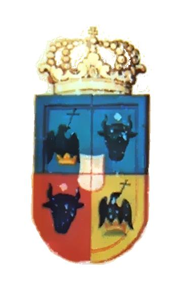 Principatele Române (de Hohenzollern) - Stemă aflată pe iconostasul mănăstirii din Rila (mică)
