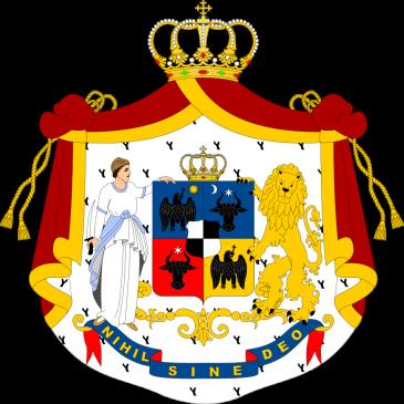Principatele Române (de Hohenzollern) - Stemă folosită între 1867-1872 (mare)