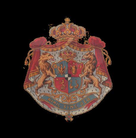 Principatele Române (de Hohenzollern) - Stemă folosită între 1872-1881 (mare), variantă 2