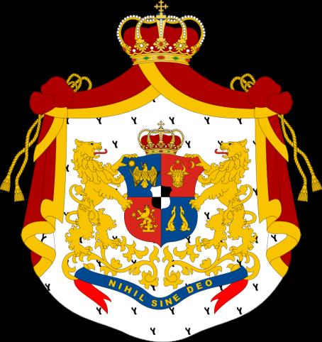 Principatele Române (de Hohenzollern) - Stemă folosită între 1872-1881 (mare)