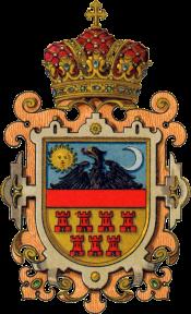 Stemă medie a Marelui Principat al Transilvaniei