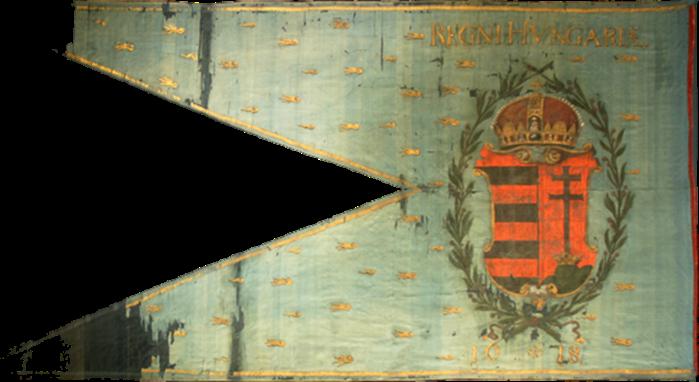 Steag al Încoronării lui Ferdinand al II-lea, Rege al Ungariei din Bratislava (revers), 1618