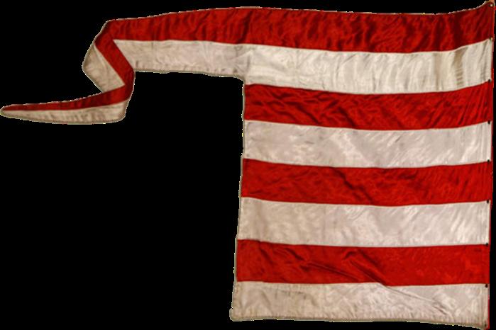 Steag al Casei Regale Árpád a Ungariei (revers), sec. XI-XIV