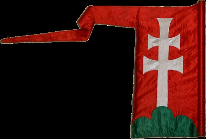 Steag al lui Béla al III-lea, Rege al Ungariei (revers), sec. XII