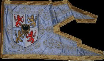 Steag al lui Thököly Imre/ Emeric de Thököl, Principe al Ungariei de Sus (avers), sec. XVII