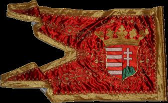 Steag al lui Thököly Imre/ Emeric de Thököl, Principe al Ungariei de Sus (revers), sec. XVII