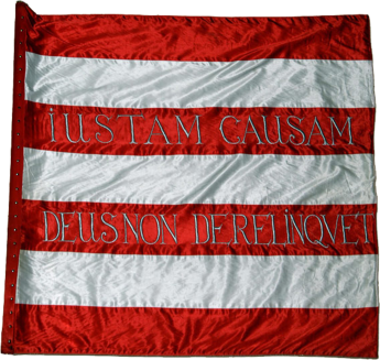 Steag al lui II. Rákóczi Ferenc/ Francisc al II-lea de Rákóc, Principe al Transilvaniei (avers), sec. XVIII