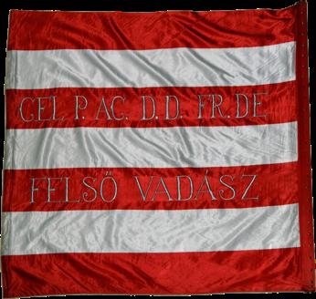 Steag al lui II. Rákóczi Ferenc/ Francisc al II-lea de Rákóc, Principe al Transilvaniei (revers), sec. XVIII