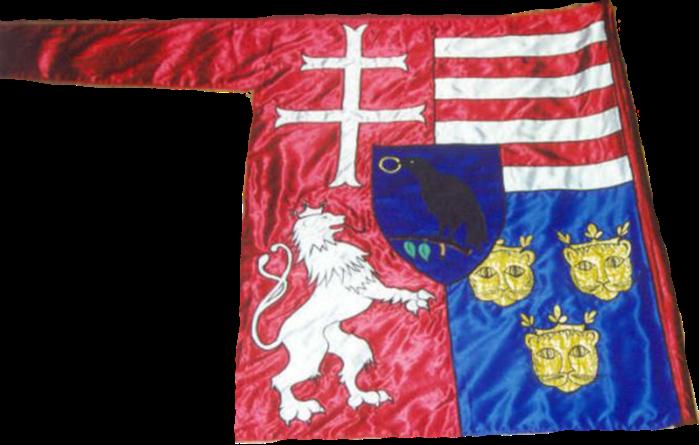 Steag al lui Matia I, Rege al Ungariei (revers), sec. XV