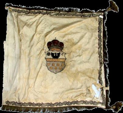 Steag al lui Teleki Pál, Conte de Sic (avers), sec. XIX