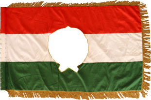 Steag al Revoluției Maghiare din 1956 (revers), 1956, variantă