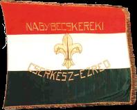 Steag al Trupei de Cercetași din Becicherecu Mare (avers), sec. XIX