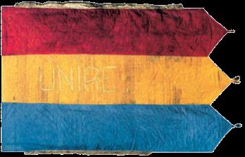 Steagul de la Darnița (avers), 1918