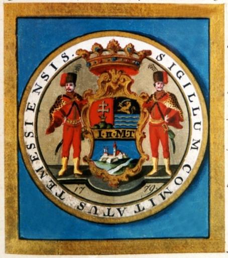 Stema Comitatului Timiș din 1779