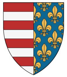 Stema Casei Regale de Anjou a Ungariei